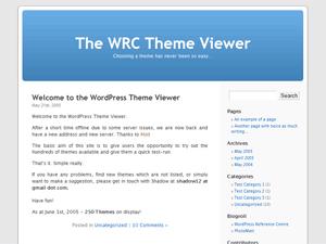 Default WordPress